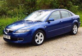 Mazda 6 td ts2 140bhp, 2007 in blue.