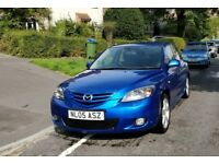 2005 Mazda 3 SPORT - 2.0L Petrol - Manual - 5 Door - Metallic Blue