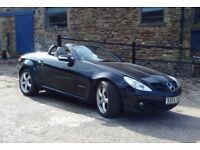 Mercedes SLK Convertible 2004 Black, Manual 1.8 Petrol