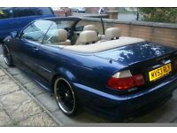 BMW 325CI MSPORT CONVERTIBLE. 53REG. BARGAIN