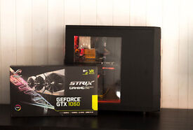Hexa Core Intel 12 Thread Workstation Gaming PC Win10 Pro Nvidia ASUS ROG GTX1060 120GB SSD 2TB HDD