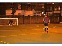 Team spaces in Marylebone 5-a-side leagues starting soon!