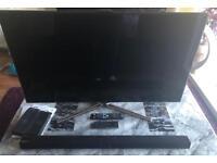 "Samsung 46"" LED SMART 3D TV and SOUNDBAR"