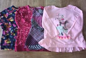 BUNDLE OF GIRLS TOPS/CLOTHES AGE 2 - 3 YEARS