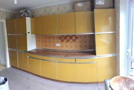 Retro 70s kitchen