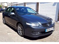 2006 HONDA ACCORD 2.0 TYPE-S I-VTEC AUTO SALOON 1 OWNER F.H.S.H 6 MONTHS WARRANTY PX WELCOME