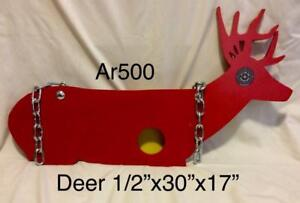 "AR500 3/8 and 1/2"" shooting targets"