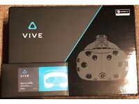 HTC VIVE - Used 2 times. Includes 2x Extra Wide Face Cushion + metal Lighthouse Stands