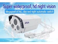 Brand New IP POE 1.3MP 1.3 MP CCTV Bullet Camera 3.6mm Sony CMOS Lens White Outdoor IR Day Night PAL
