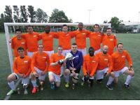 NEW TO LONDON? PLAYERS WANTED FOR FOOTBALL TEAM. FIND A SOCCER TEAM IN LONDON. PLAY IN LONDON 5HP