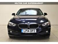 BMW 3 SERIES 2.0 320D EFFICIENTDYNAMICS 4d 161 BHP + TOP SPEC WITH ALL THE EXTRAS (blue) 2014