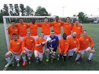 NEW TO LONDON? PLAYERS WANTED FOR FOOTBALL TEAM. FIND A SOCCER TEAM IN LONDON. PLAY IN LONDON 2QZ
