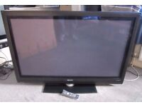 "50"" PHILIPS 50PFP5532D Plasma Television - Faulty / not switching on - Calls only"