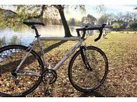 Tri and Run road bike (carbon forks)