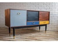 G PLAN SIDEBOARD, DRAWERS,DRESSING TABLE, SHABBY CHIC, VINTAGE, RETRO (free delivery)