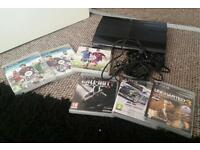 Slimline PS3 and 6 games