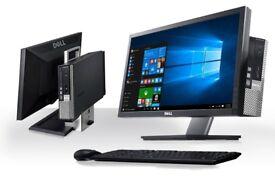 Dell optiplex 780 All In One PC Dual Core 2.0GHz 8GB RAM 128 ssd dvd 22 inch