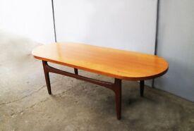 1970's mid century teak G Plan coffee table