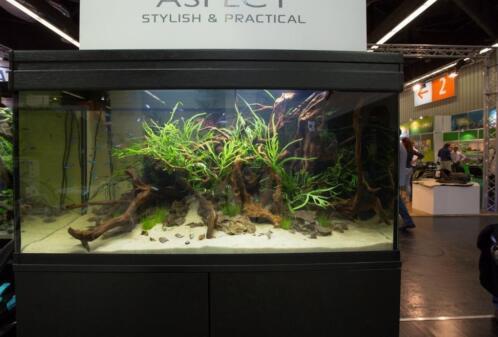 modern aquarium met ledverlichting diverse maten