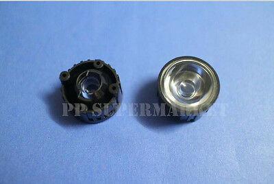 10pcs 45 Degree Led Lens For 1w 3w High Power Led With Screw 20mm White Holder