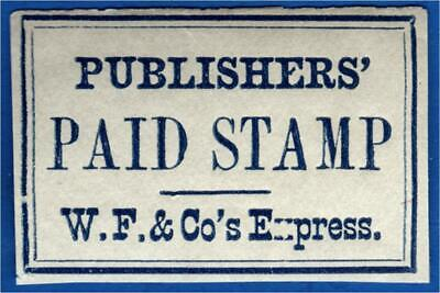 US Sc# 143LP10 Wells Fargo & Co.Express PAID Publishers' Newspaper stamp, RARE  for sale  Shipping to India