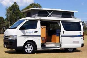 Toyota Hiace Sunliner Automatic Campervan in Great Condition Albion Park Rail Shellharbour Area Preview