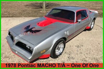Pontiac Trans Am Firebird Trans Am Macho TA 1978 Pontiac Firebird Trans Am MACHO TA 1of 1 Ultra RARE FINANCING AVAILABLE