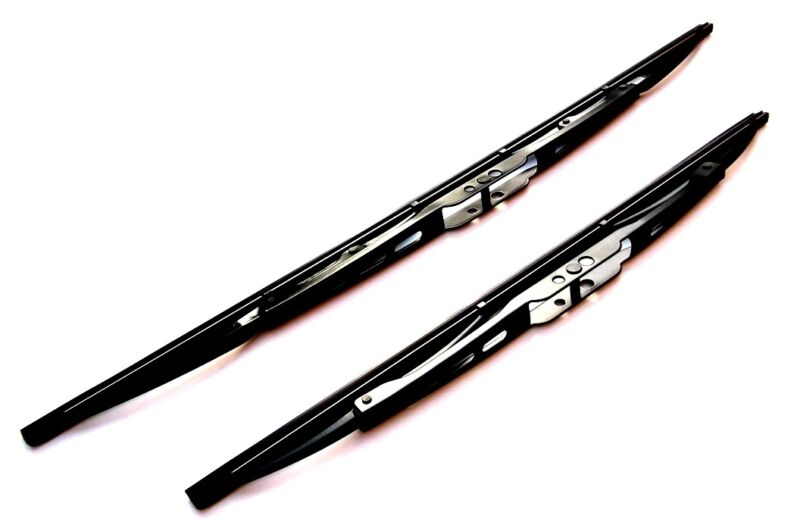 Front Wiper Blade Set - High Quality Windscreen Wiper Blades  (WB24/18)