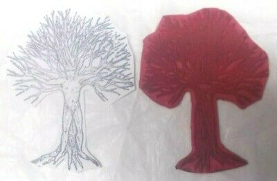 Face Art Halloween Man (Bizarre nude tree rubber stamp male man face naked trees scenic Halloween)