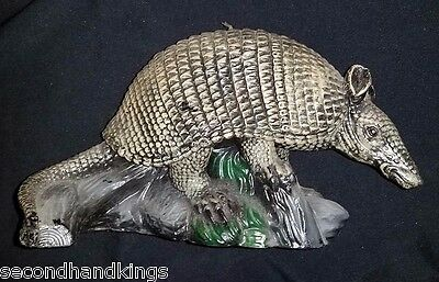 COLLECTIBLE NOVELTY ARMADILLO SHAPE CANDLE DECORATION