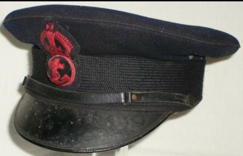 WW1 BRITISH ROYAL NAVY PETTY OFFICER SERVICE CAP REPLICA