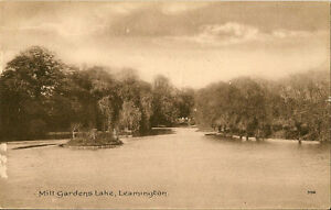 LEAMINGTON-SPA-Warwickshire-Mill-Gardens-Lake-BOOTS-Pelham-series