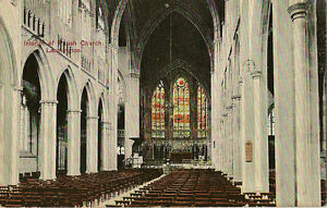 LEAMINGTON-SPA-Warwickshire-Interior-of-Parish-Church