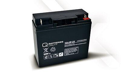 Batería para carro de golf/moto eléctrica Q-BATTERIES AGM 12LCP-23 12v 23ah