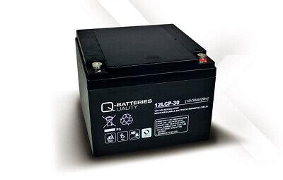 Batería para carro de golf/moto eléctrica Q-BATTERIES AGM 12LCP-30 12V 30Ah