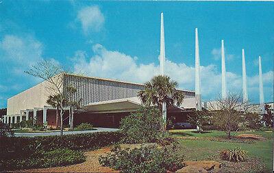 Postcard Fl Florida Boca Raton Community Church Bibletown Auditorium 1960S Mint
