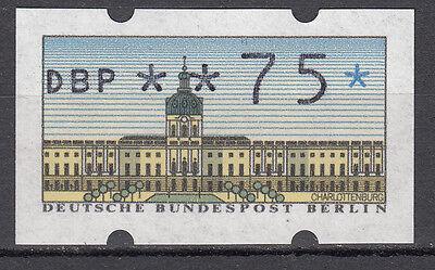 Berlin 1987 Automaten-Freimarke aus Mi. Nr. 1   75er Postfrisch mt Nr. (21494)