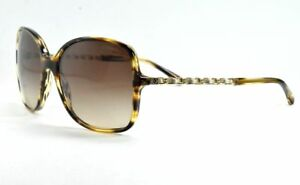 ce377f834a5bd CHANEL 5210Q 1498 S5 LIGHT HAVANA  GOLD  LEATHER BRAID Sunglasses