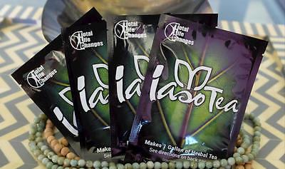 TLC IASO TEA Organic Weightloss Detox TEA  $26.99 4 PACKS SUPPLY!!!