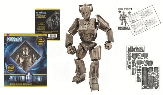 Doctor Dr Who 30cm Super Kitt-O Articulated Construction Kit Cyberman