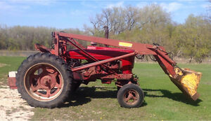 Farmall Tractor with Loader