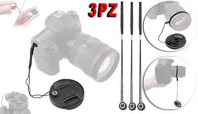 LENS CAP LACE LACCIO TAPPO COPRI OBIETTIVO Nikon nikkor AF-S 28mm 85mm
