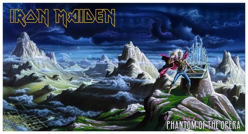 "Iron Maiden - 24"" POSTER the Phantom of the Opera EDDIE Heavy Metal print"