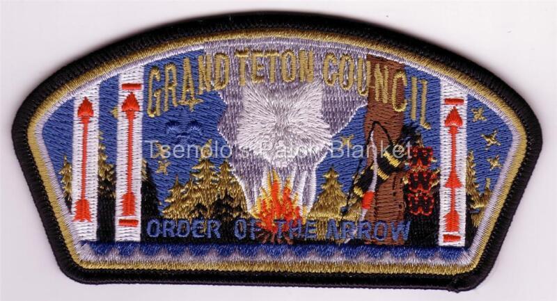 Grand Teton Council 2006 SA-148 Lodge 407 NOAC Csp Mint Condition FREE SHIPPING