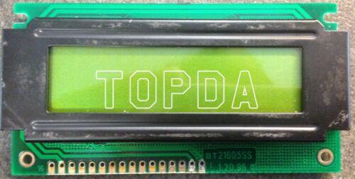 1pc BT21605SS 1.20.96 SN102 94V0 KL    LCD display