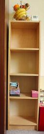 Free standing shelf unit 4 shelves