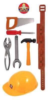Kinder Werkzeuggürtel - Kostüm Satz Spielzeug SAE Schraubenschlüssel Junge Rolle