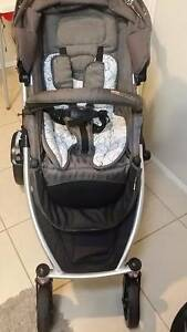 """DOUBLE STRIDER PLUS"" NEW BORN BABY PRAM CAPSULE PACKAGE Coombabah Gold Coast North Preview"