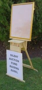 Silent Auction Easels - Fund raising ideas