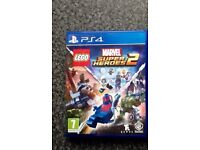 Super heroes 2 PlayStation 4 game brand new